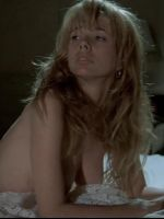 Rosanna Arquette lying in bed naked face down & having sex in bed