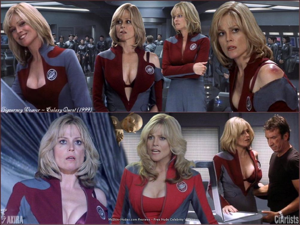 Weaver picture sigourney breasts
