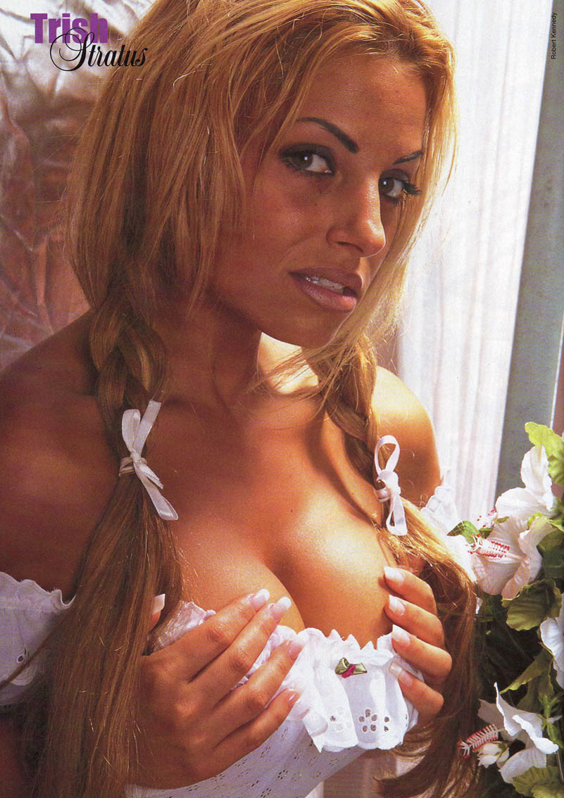 Trish Stratus Hotmoney Nude Picture Celebrity Free