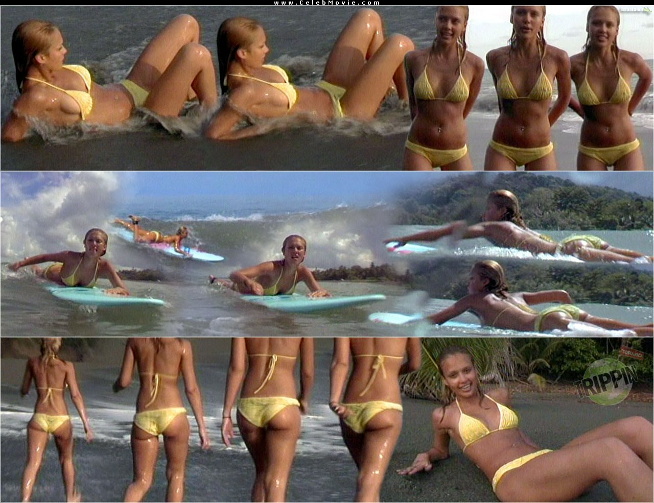 Jessica Alba Sexy Nude 14 Zoom In (Front) ...