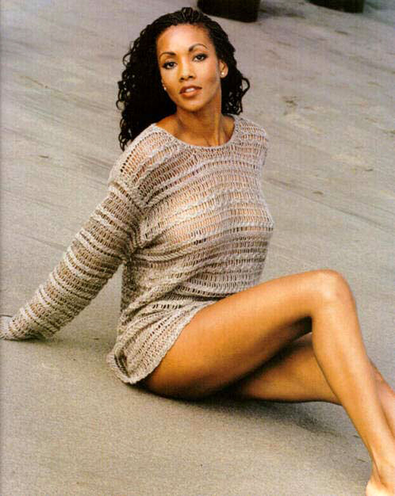 Vivica A Fox Naked topless and pussy pics