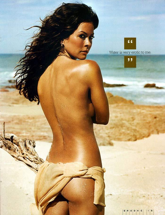 brooke burke nude photo shoot video № 77981