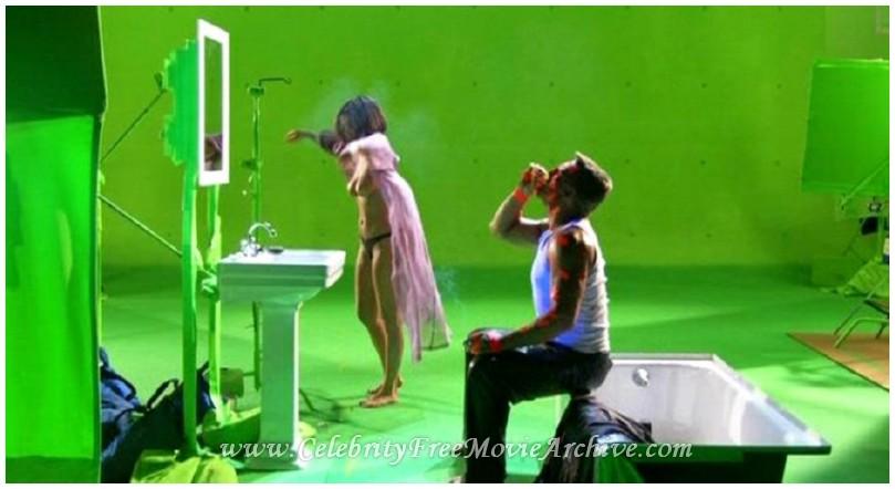 Carla Gugino Nude Green Screen 92