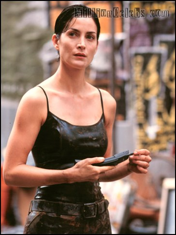 And hip carrie anne moss sexy sloppy