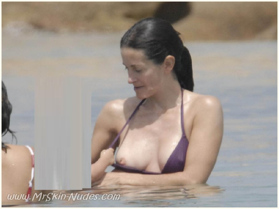Courteney cox arquette nue