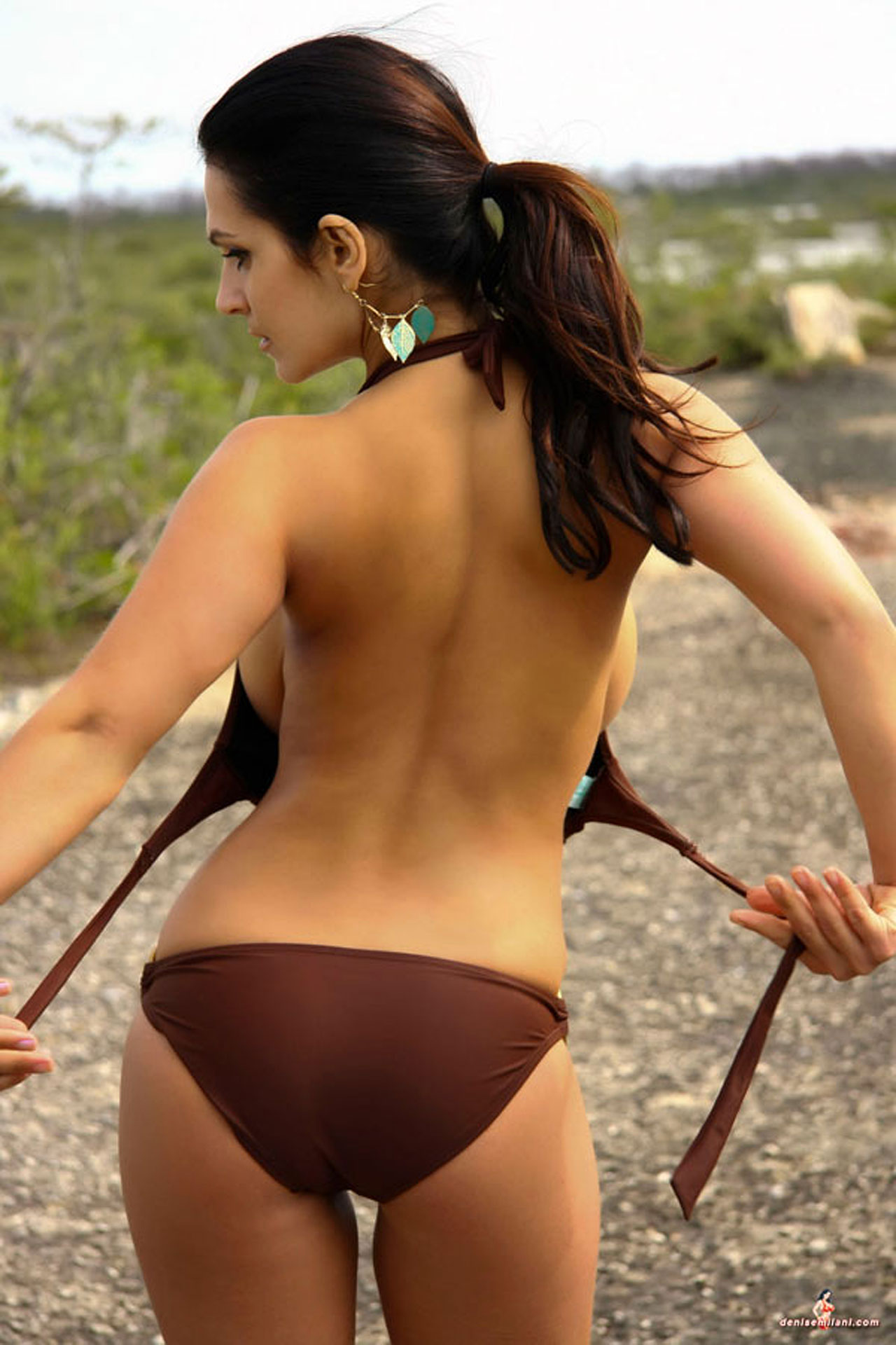 denise milani nude ass sexy