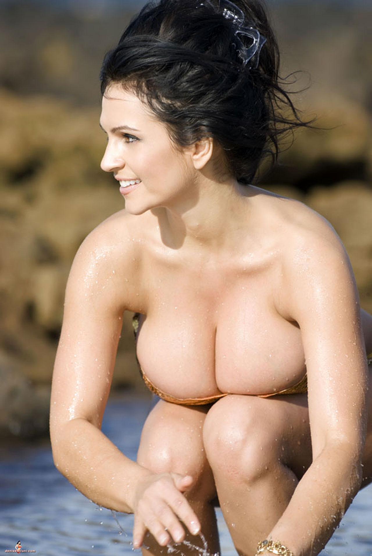 denise milani nude pics