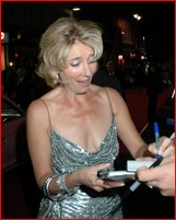 Emma thompson upskirt
